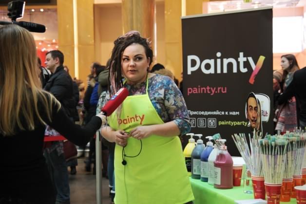 PR-мероприятие Painty  в ТРЦ «Галерея»